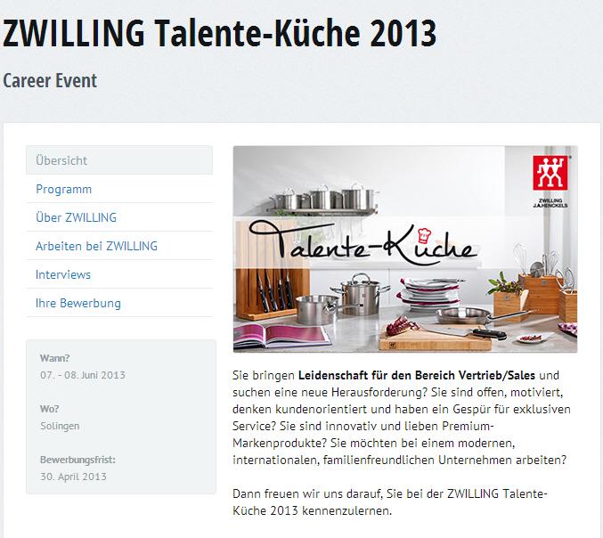 talente-kueche - ein Ansatz für Female Recruiting