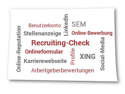 Online-Interaktion im Krankenhaus-Recruiting