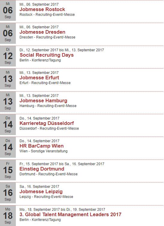 Eventkalender auf Rekrutierungserfolg.de September 2017 (1)