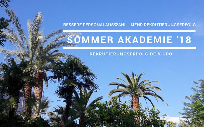 Online Sommer-Akademie 2018