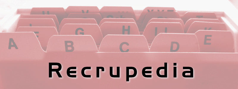 Recrupedia - Glossar für Recruiter