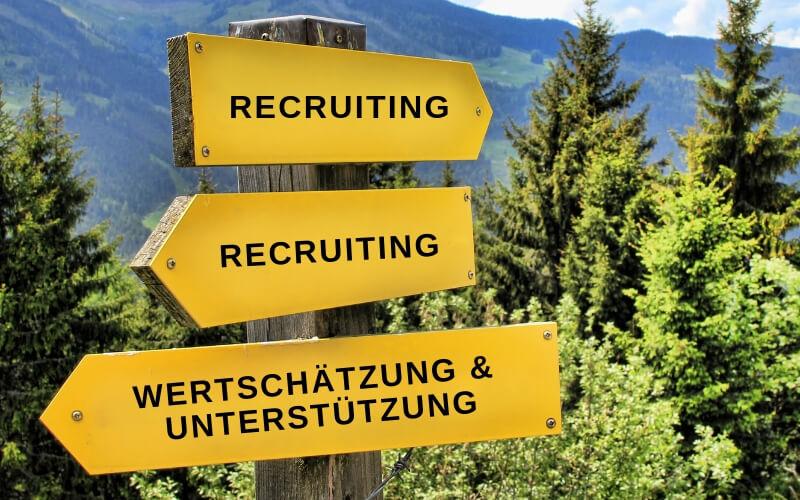 Change-Optionen im Recruiting