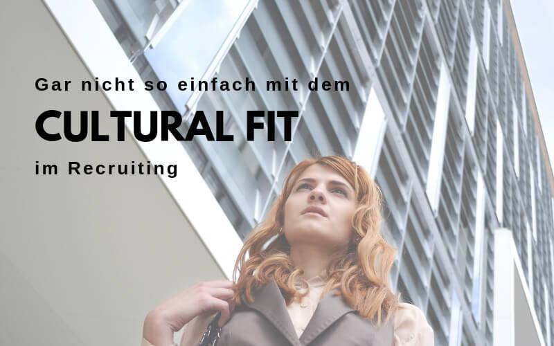 Unternehmenskultur und Cultural fit