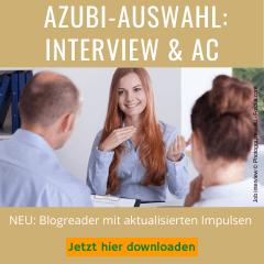 Blogreader Azubi Auswahl Interview AC