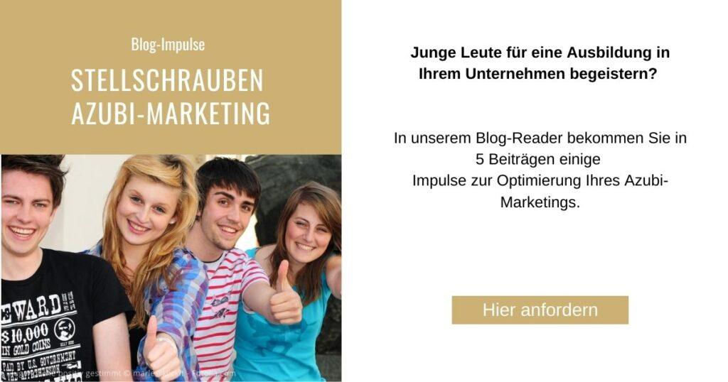 Blogreader Azubi Marketing