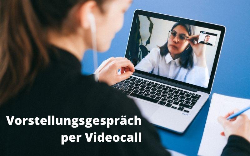 Vorstellungsgespräch per Videocall