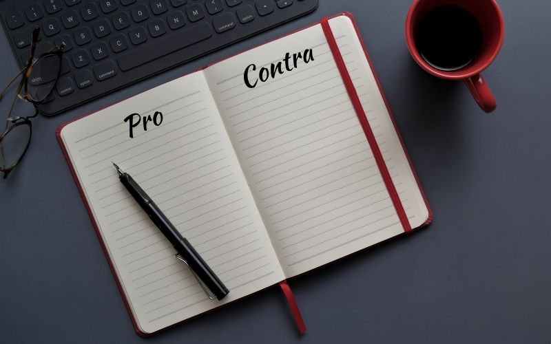 Pro und Contra Job