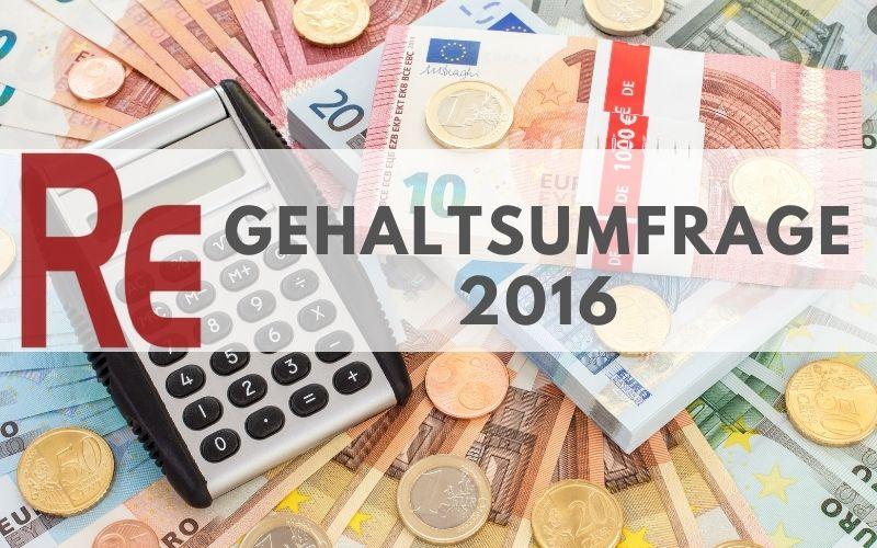 Gehaltsumfrage von Rekrutierungserfolg.de