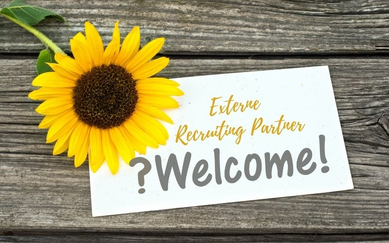 Kooperation mit externen Recruiting Partnern