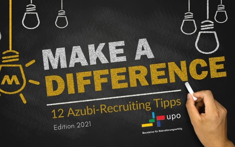 Make a Difference Azubi-Recruiting-Tipps