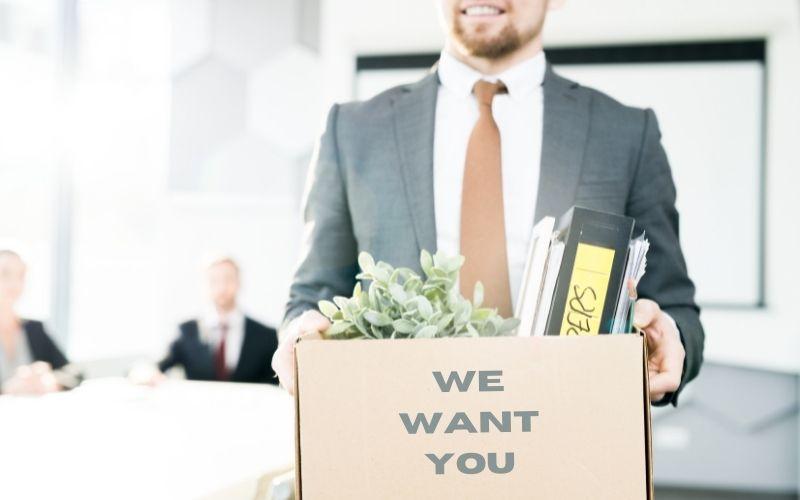 Wie können wir von den vielen Jobwechsel-Interessierten einen abbekommen?